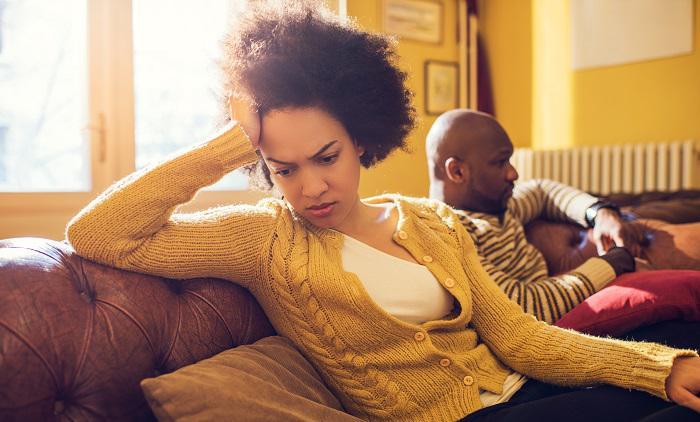 Image result for black couple break up