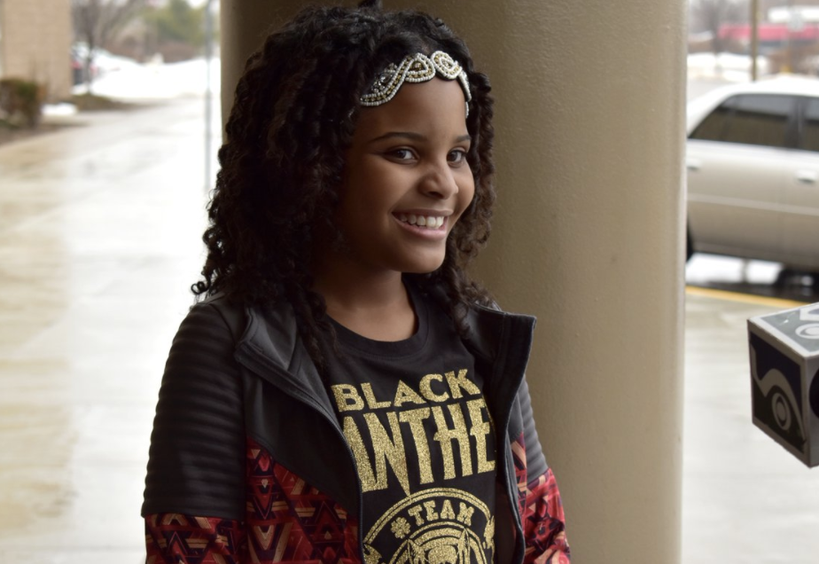 Little Miss Flint wants to be president when she grows up and, yes, she already has our vote